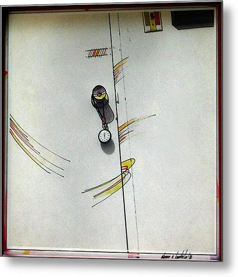Door 1980 Metal Print by Glenn Bautista