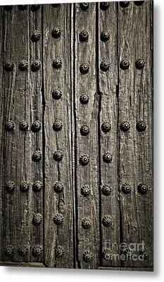 Door Detail Metal Print