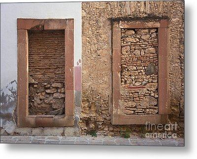 Metal Print featuring the photograph Doors - Mineral De Pozos Mexico by Craig Lovell