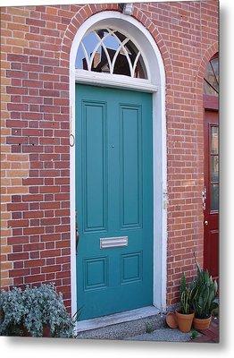 Doors 23 Metal Print by Emerald GreenForest