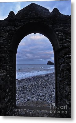 Doorway To The Sea II Metal Print by Nabucodonosor Perez