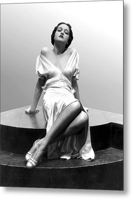 Dorothy Lamour, 18 Years Old, 1933 Metal Print by Everett