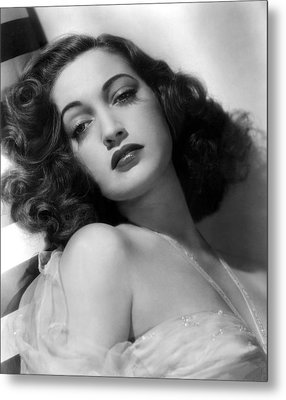 Dorothy Lamour, Paramount Pictures, 1943 Metal Print by Everett