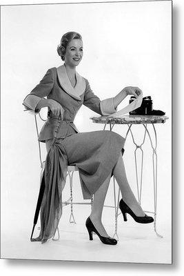 Dorothy Mcguire, Ca. 1950s Metal Print by Everett