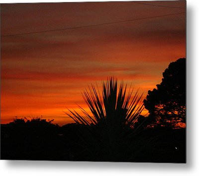 Metal Print featuring the photograph Dorset Sunset by Katy Mei