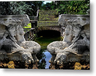 Metal Print featuring the photograph Double Mermaids by Harry Spitz