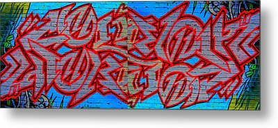 Double Trouble Metal Print by Randall Weidner