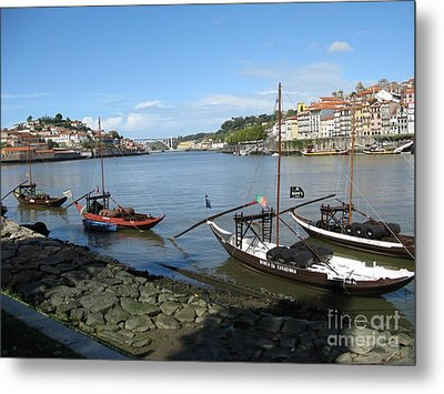 Metal Print featuring the photograph Douro River by Arlene Carmel