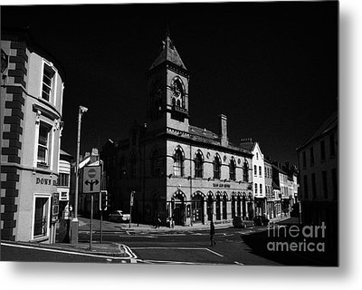 Down Arts Centre Center Old Town Hall Downpatrick County Down Ireland Metal Print by Joe Fox