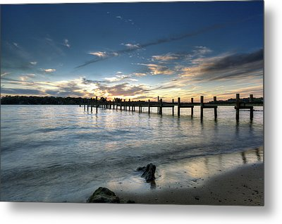 Down By The River Metal Print by Edward Kreis
