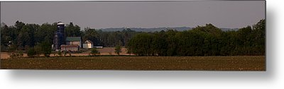 Metal Print featuring the photograph Down On The Farm by John Crothers