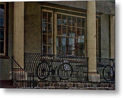 Downtown Boyertown Metal Print by Trish Tritz