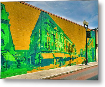 Downtown Mural IIi Metal Print by Steven Ainsworth