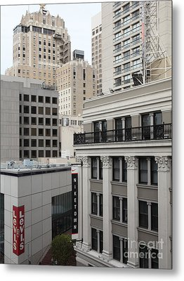 Downtown San Francisco Buildings - 5d19323 Metal Print