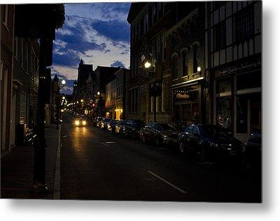 Downtown Staunton Virginia Zynodoa  Metal Print