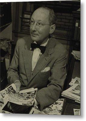 Dr. Otto Bettmann, A German Jewish Metal Print by Everett