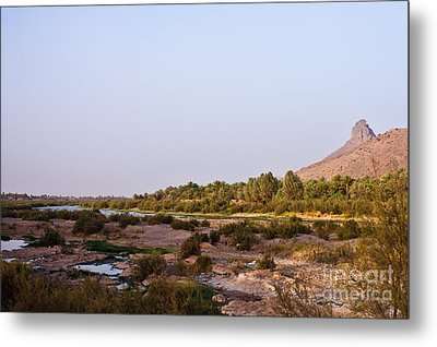 Draa River Metal Print by Nabucodonosor Perez