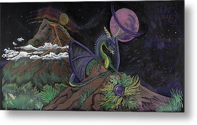 Dragon Dreamz Metal Print by Robin Hewitt