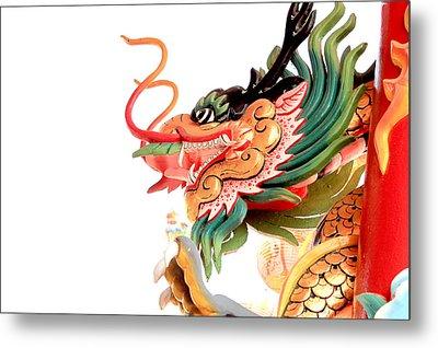 Dragon Metal Print by Panyanon Hankhampa