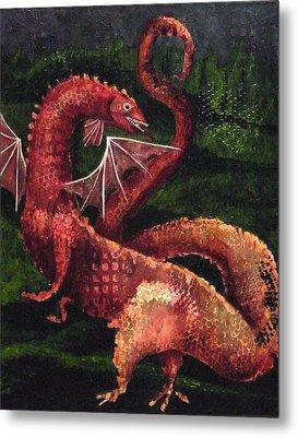 Dragon Time Metal Print
