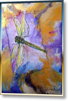 Dragonfly Dreams Metal Print by M C Sturman