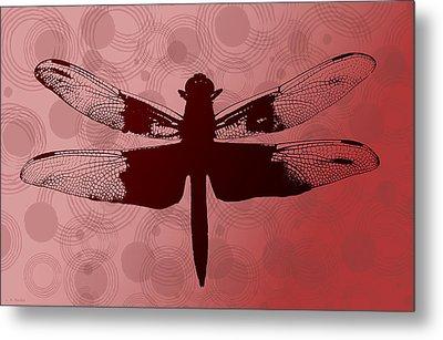 Dragonfly Metal Print by Lauren Radke