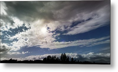 dramatic clouds V Metal Print by Nafets Nuarb