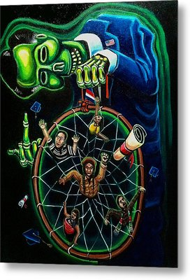 Dream Catcher Metal Print by Mario Chacon