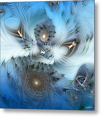 Metal Print featuring the digital art Dream Journey by Casey Kotas