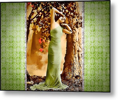 Metal Print featuring the photograph Dream Of The Night II by Mary Morawska
