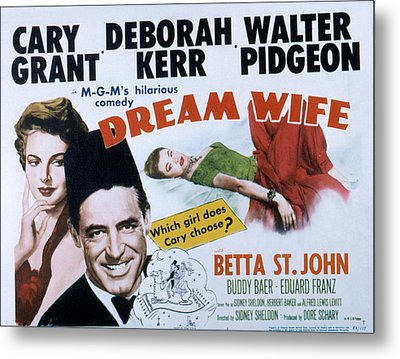 Dream Wife, From Left Deborah Kerr Metal Print by Everett