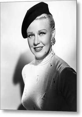 Dreamboat, Ginger Rogers, 1952 Metal Print by Everett