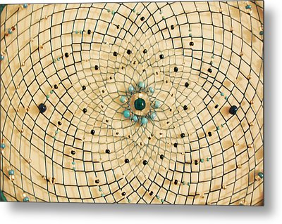 Dreamcatcher Metal Print by Yvonne Scott