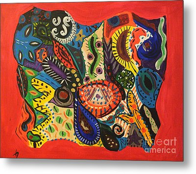 Dreaming In Chaos Metal Print by Tammy Herrin