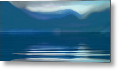 Dreams Of The Lakes Metal Print by Susan  Solak