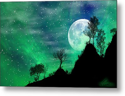 Dreamy Night Metal Print by Anthony Citro