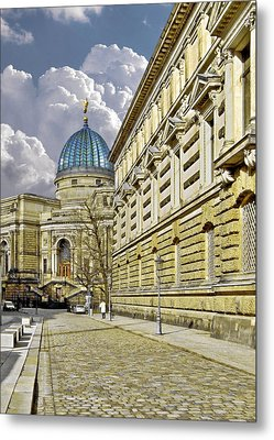 Dresden Academy Of Fine Arts Metal Print by Christine Till