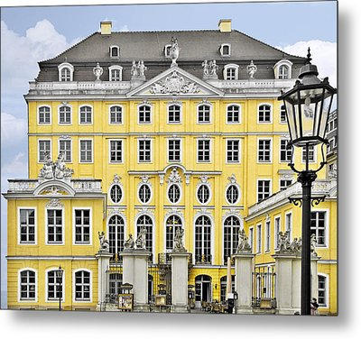 Dresden Taschenberg Palace - Celebrate Love While It Lasts Metal Print by Christine Till