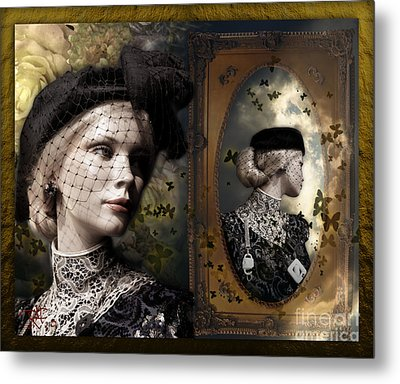 Dressed Up For A  Dream Metal Print by Rosa Cobos