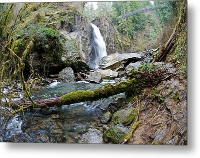 Drift Creek Falls Metal Print