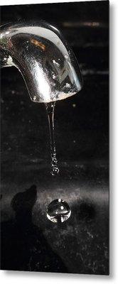 Metal Print featuring the photograph Drip Drip Drip by Charles Dana