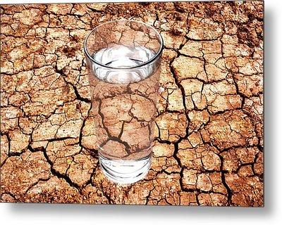 Drought Metal Print by Victor De Schwanberg