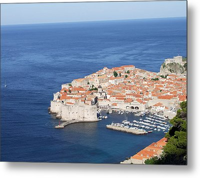 Metal Print featuring the photograph Dubrovnik Former Yugoslavia Croatia by Joseph Hendrix