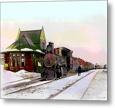 Duluth And Iron Range Railroad Metal Print by Charles Shoup