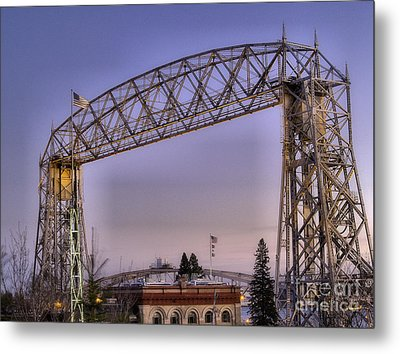 Duluth Lift Bridge Metal Print by Jimmy Ostgard