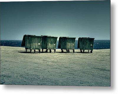 Dumpster Metal Print by Joana Kruse