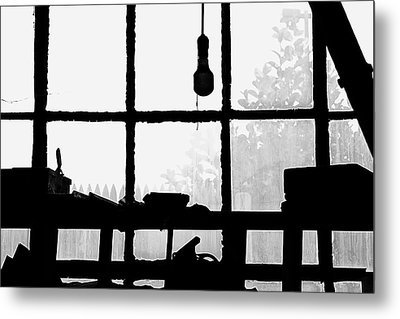 Metal Print featuring the photograph Dunklee Window by Tom Singleton