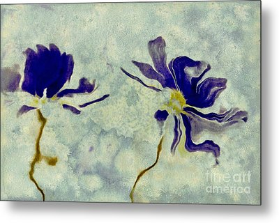 Duo Daisies Metal Print by Variance Collections