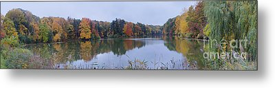 Metal Print featuring the photograph Durand Lake by William Norton