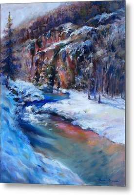 Durango Stream Metal Print by Bonnie Goedecke